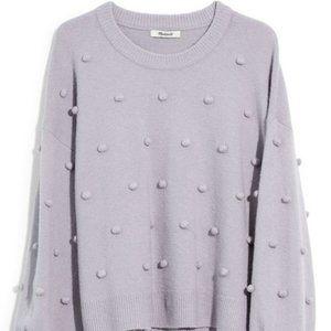 NWT Madewell M Brockton Bobble Sweater Coziest